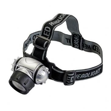 Silverline Multi-Mode Headlamp 12 LED Headlight
